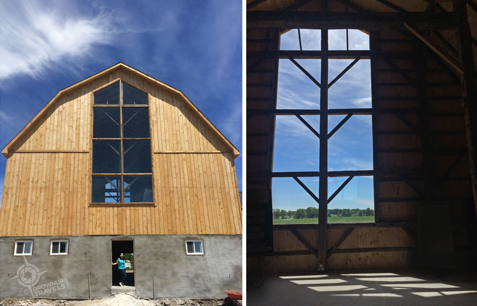 Rebuilt by Mennonites, this V.I.Barn will become the centre of Burls Creek events