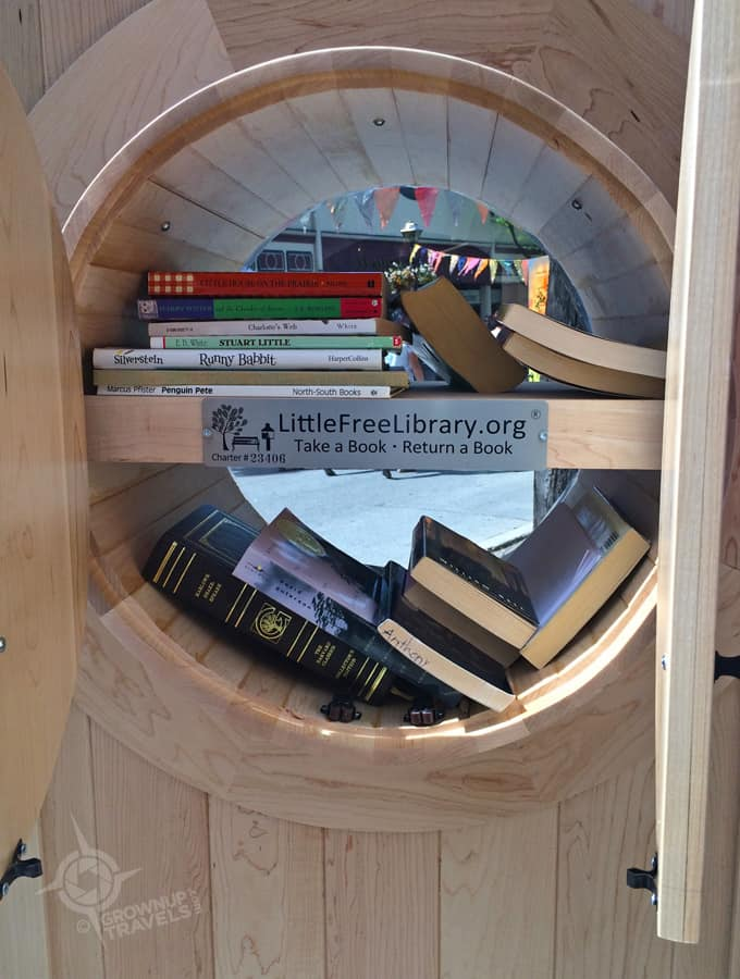 Leave a book, take a book Little Free Library