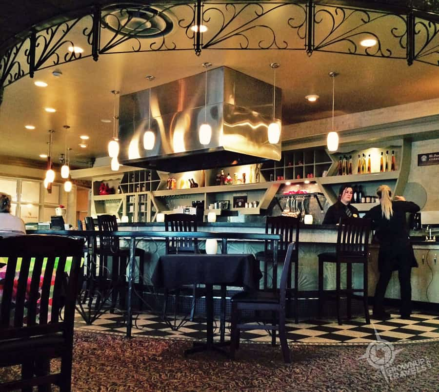 The Grape and Olive Wine & Martini Bar was a delightful surprise from this Best Western.