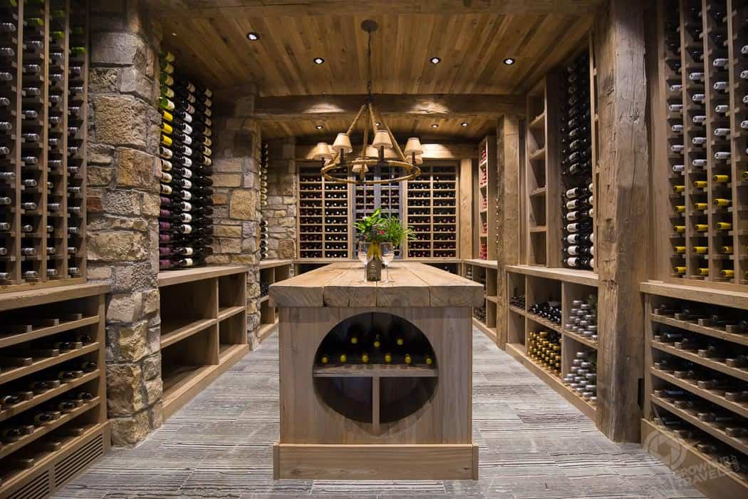 Killarney Mountain Lodge Wine Cellar