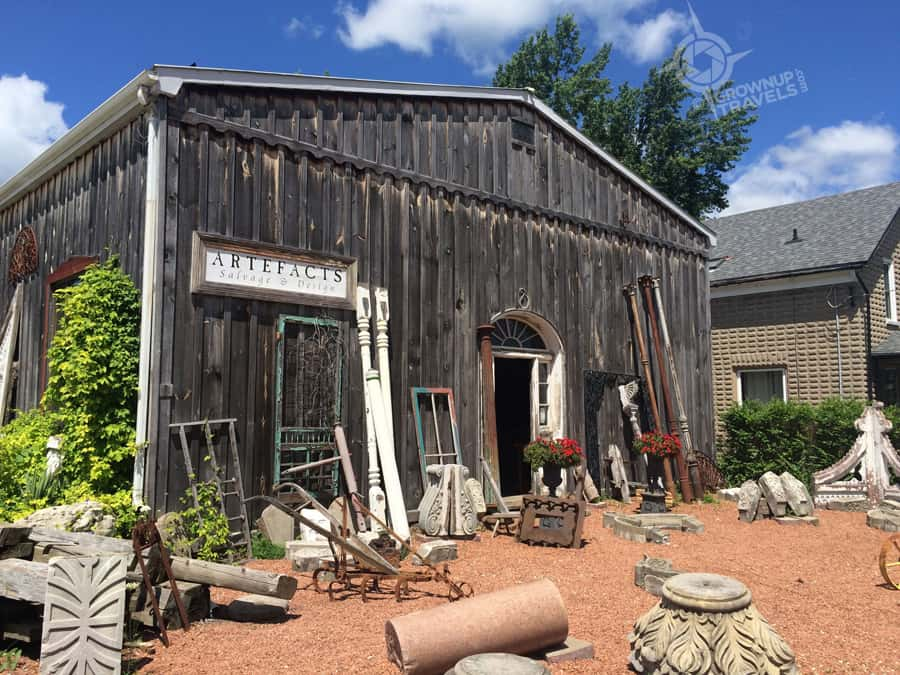 Artefacts Salvage is a treasure trove for reclaimed objects and materials