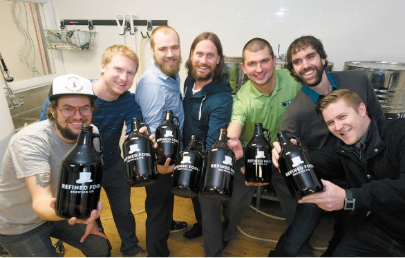 A few of Sarnia's Refined Fools. Photo credit: The Sarnia Journal