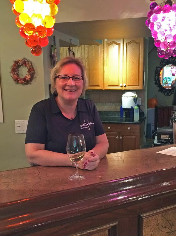 Anne Alton is as engaging as the Estate's vintages