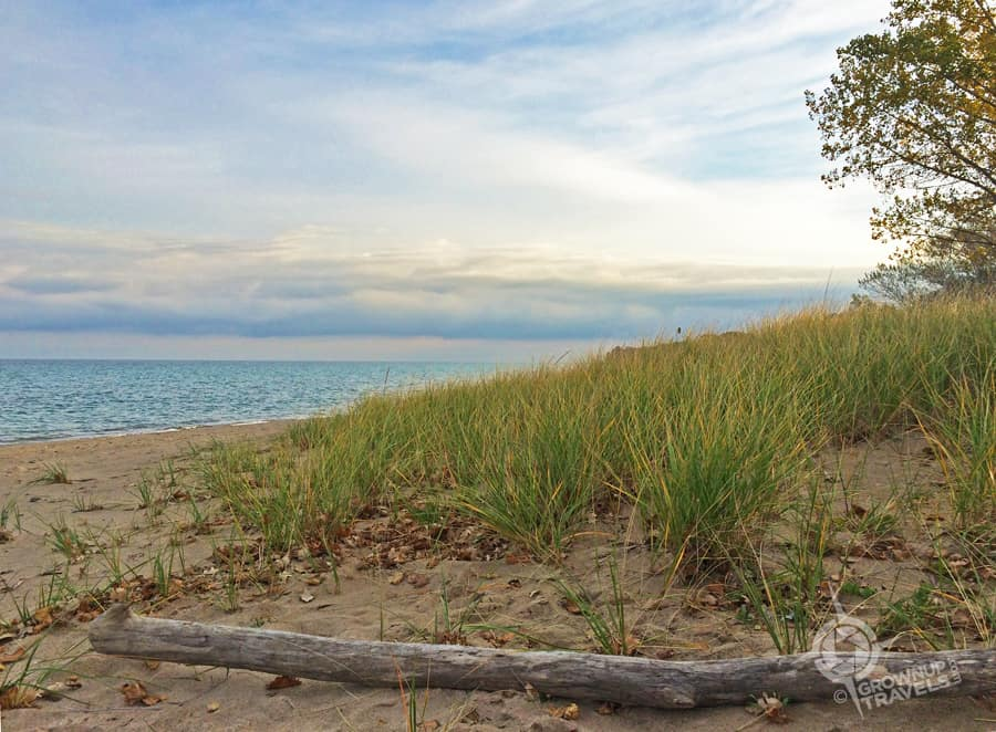 Canatera Park beach on Lake Huron has been designated with the international Blue Flag status