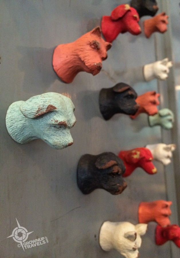 St. Petes Paper Street dog magnets