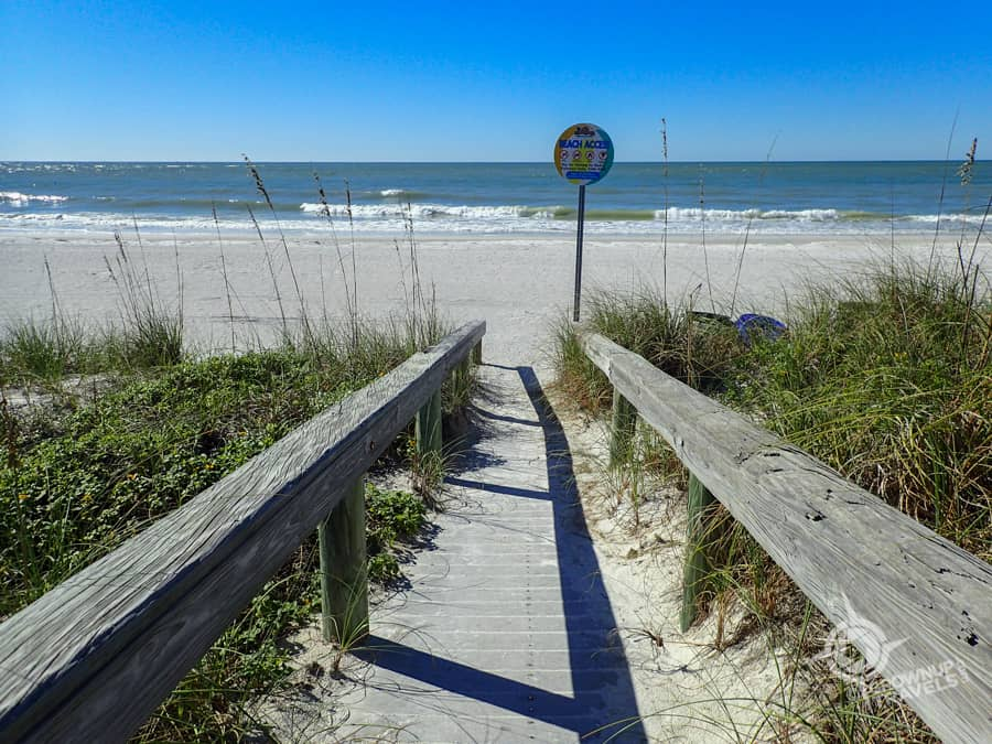 St. Pete's Pass-a-Grille dunes
