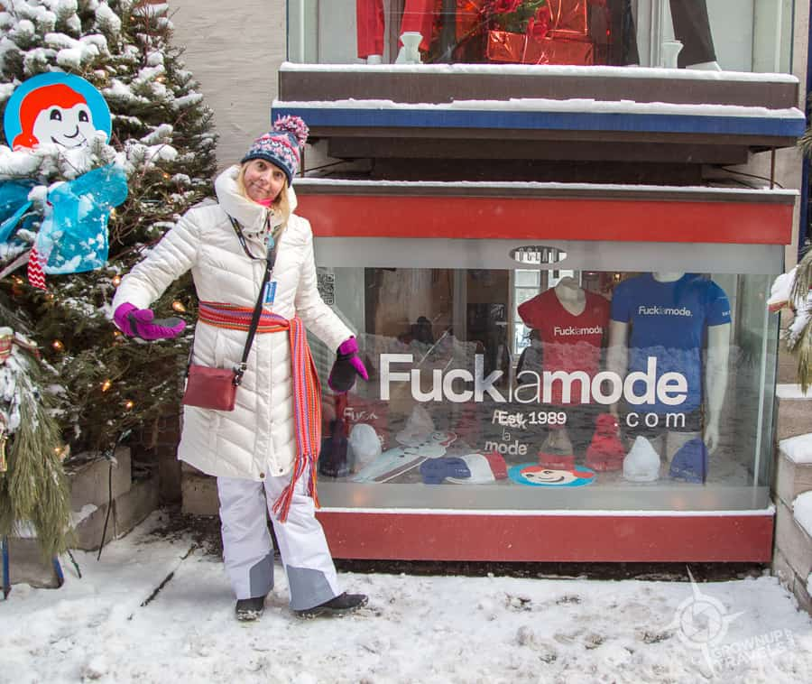 FucklaMode store, Quebec City