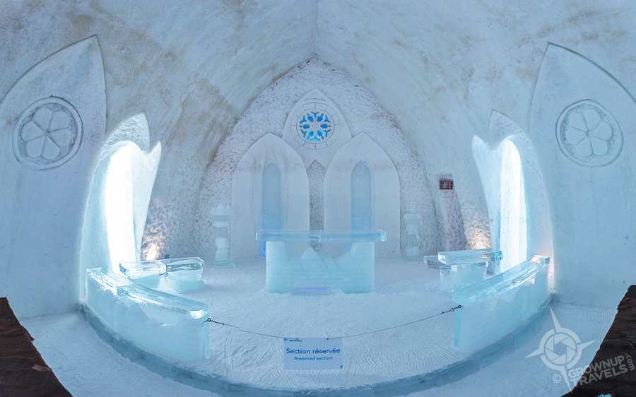 Embracing The Cold At Qu Bec 39 S H Tel De Glace Ice Hotel
