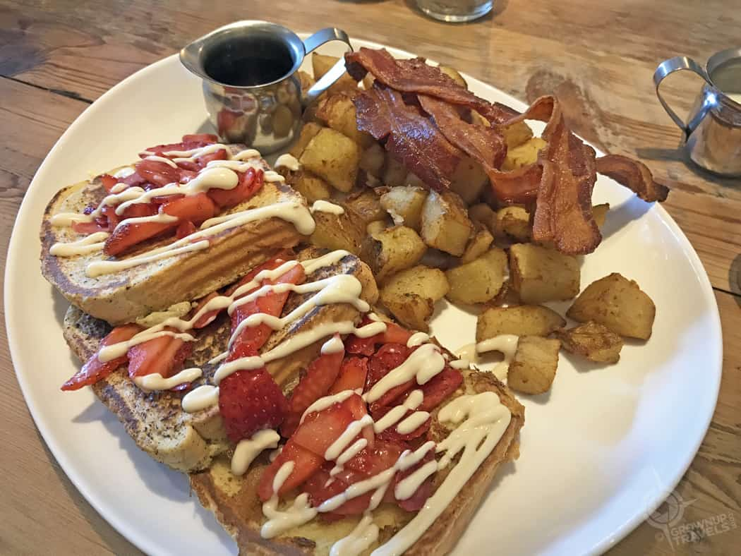 Stadt Cafe french toast