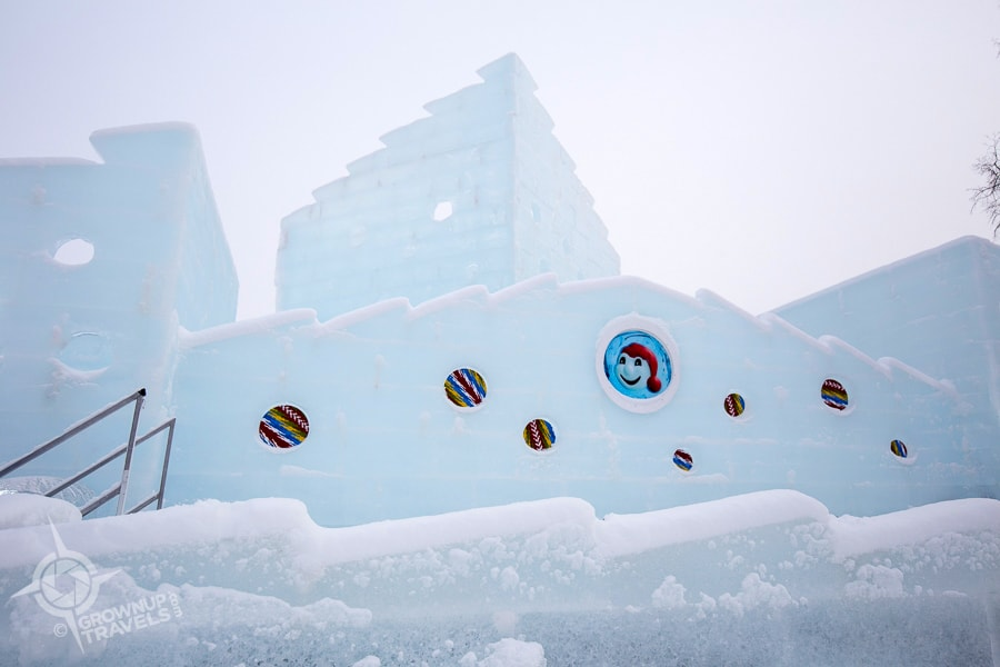 Quebec Carnival Ice Palace