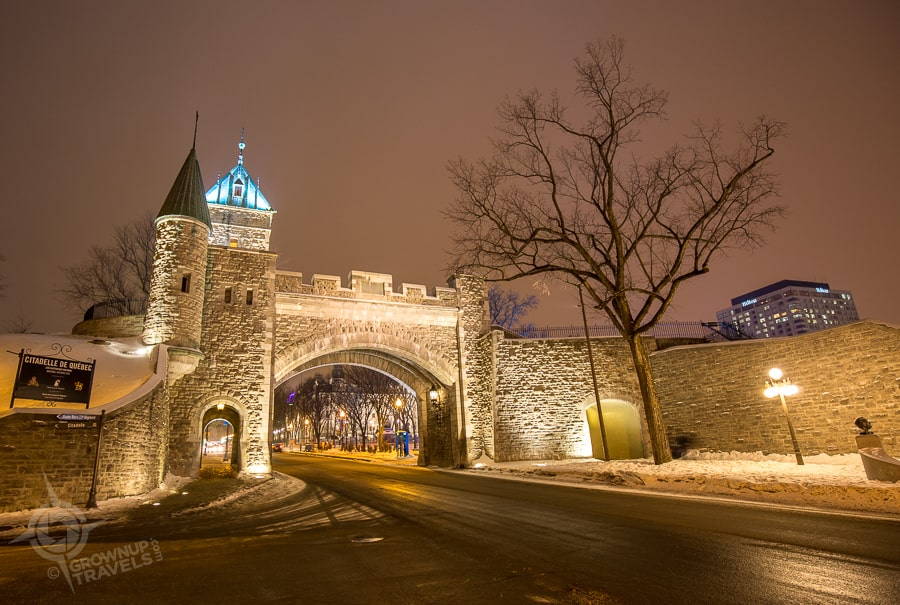 quebec kent gate night