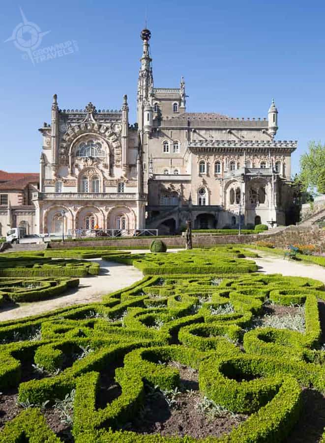 Bussaco Palace garden Portugal