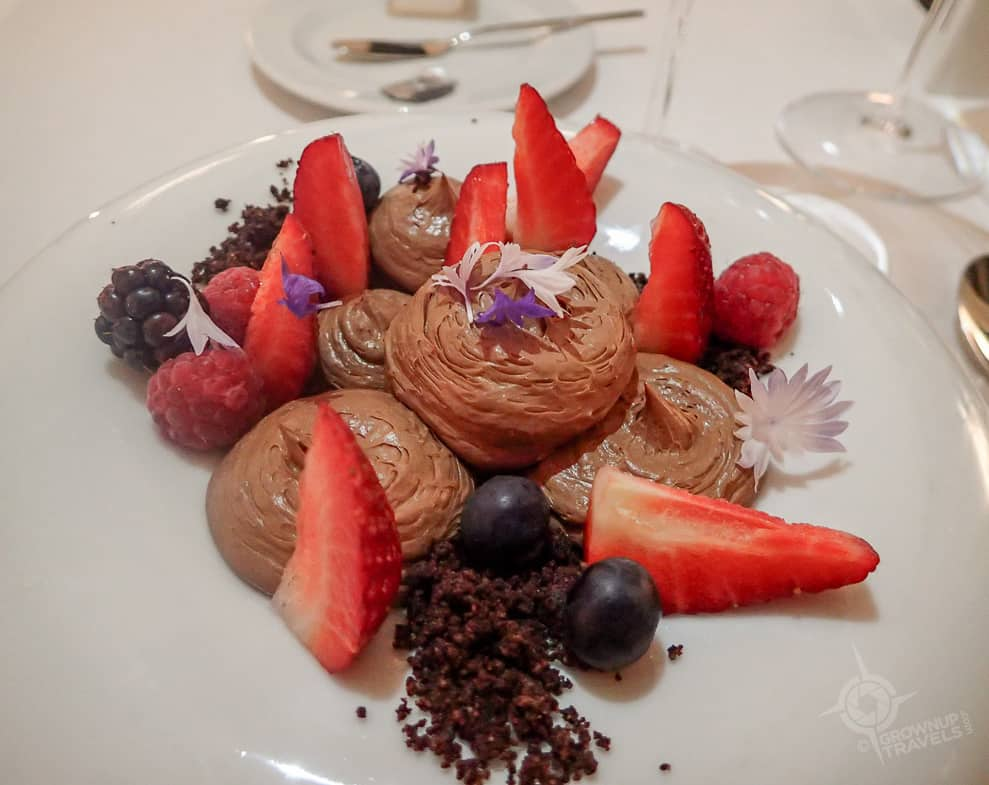 Douro chocolate mousse