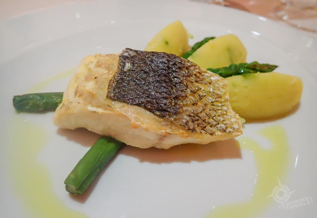 Sea Bass at Douro hotel