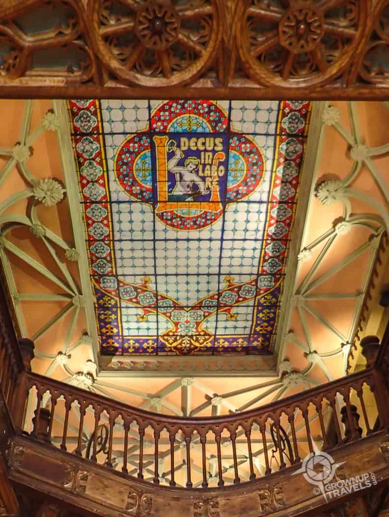 Lello bookstore skylight