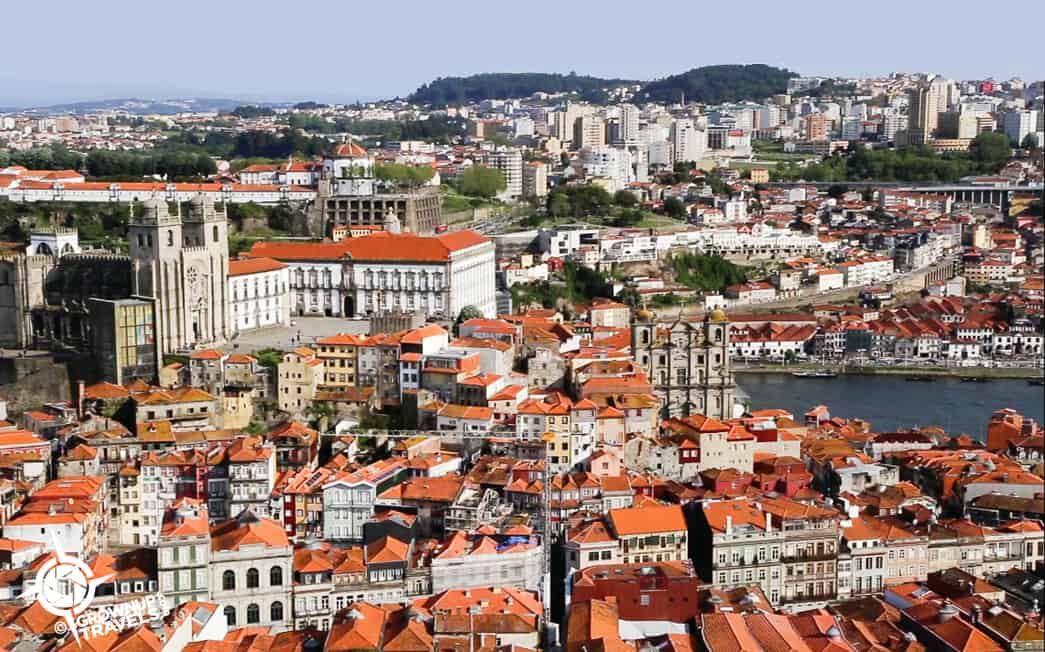 Porto from Clerigos tower