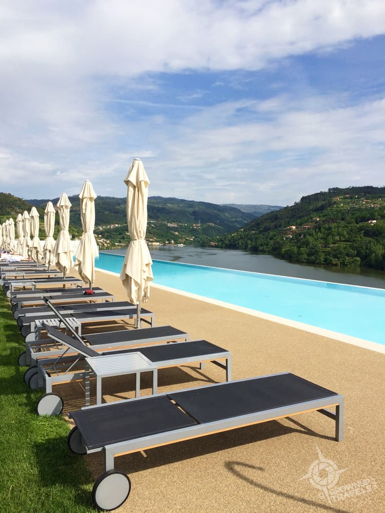Douro royal valley infinity Pool