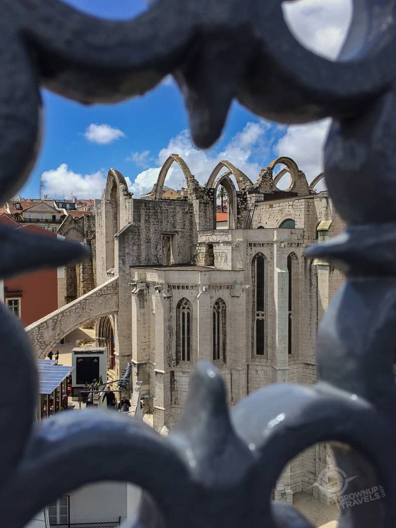 convento do carmo from tower