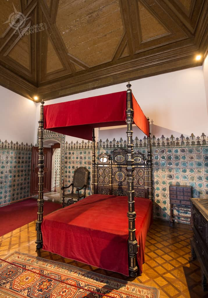 National Palace bedroom