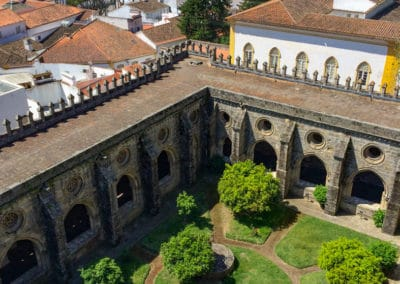 Evora Cloister from above
