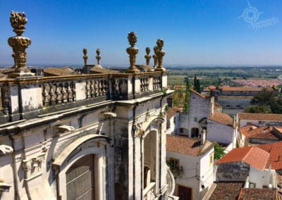 Evora terrace and view