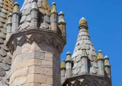Evora turrets from roof