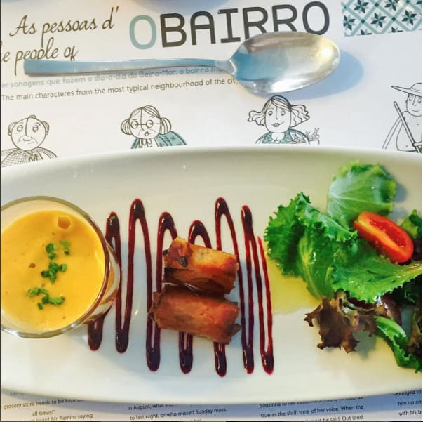 appetizers at O Bairro