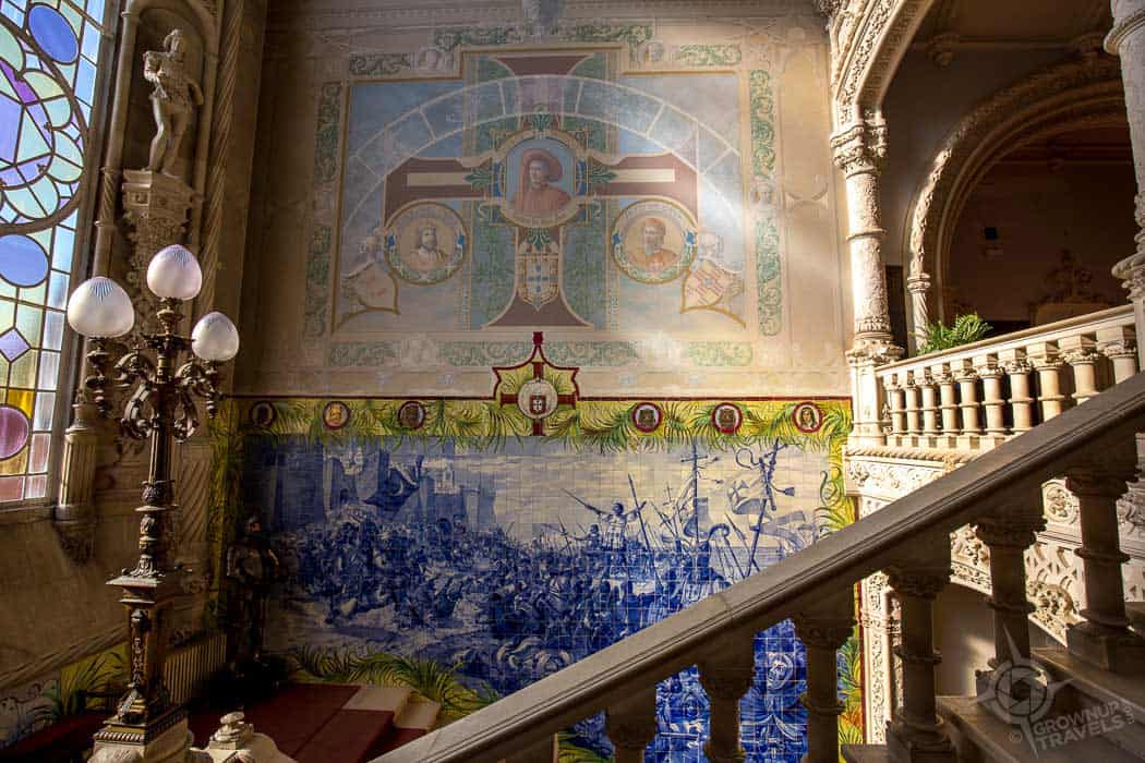 Staircase at Bussaco Palace