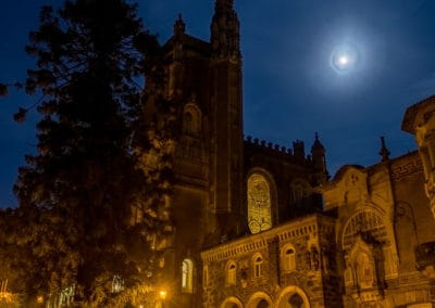 Moon over Bussaco Palace
