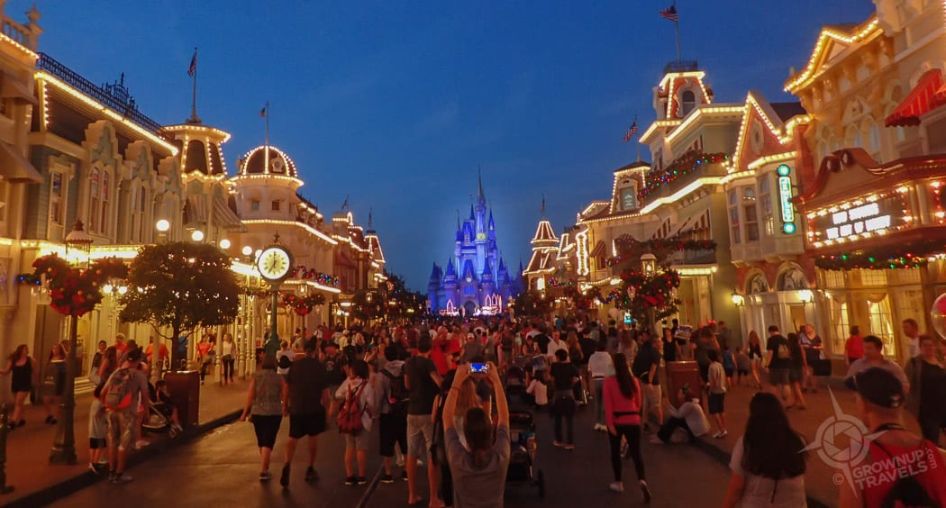 Main Street in Magic Kingdom