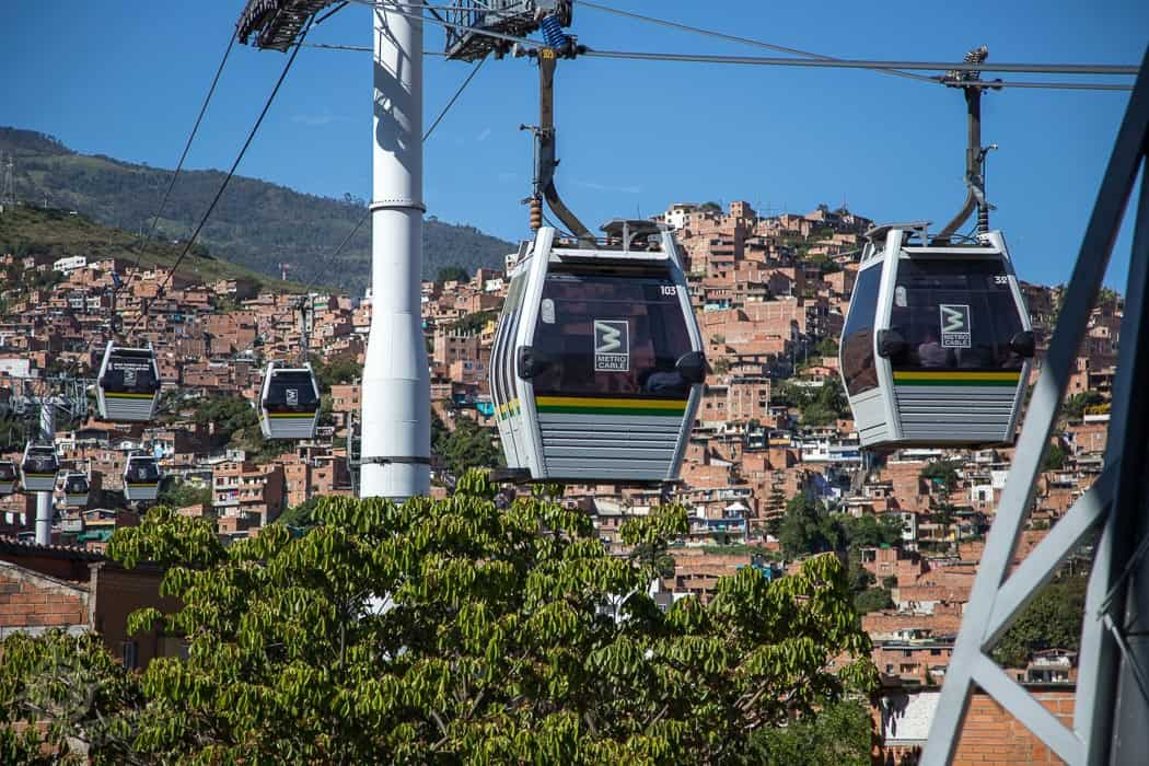 Medellin Cablecars