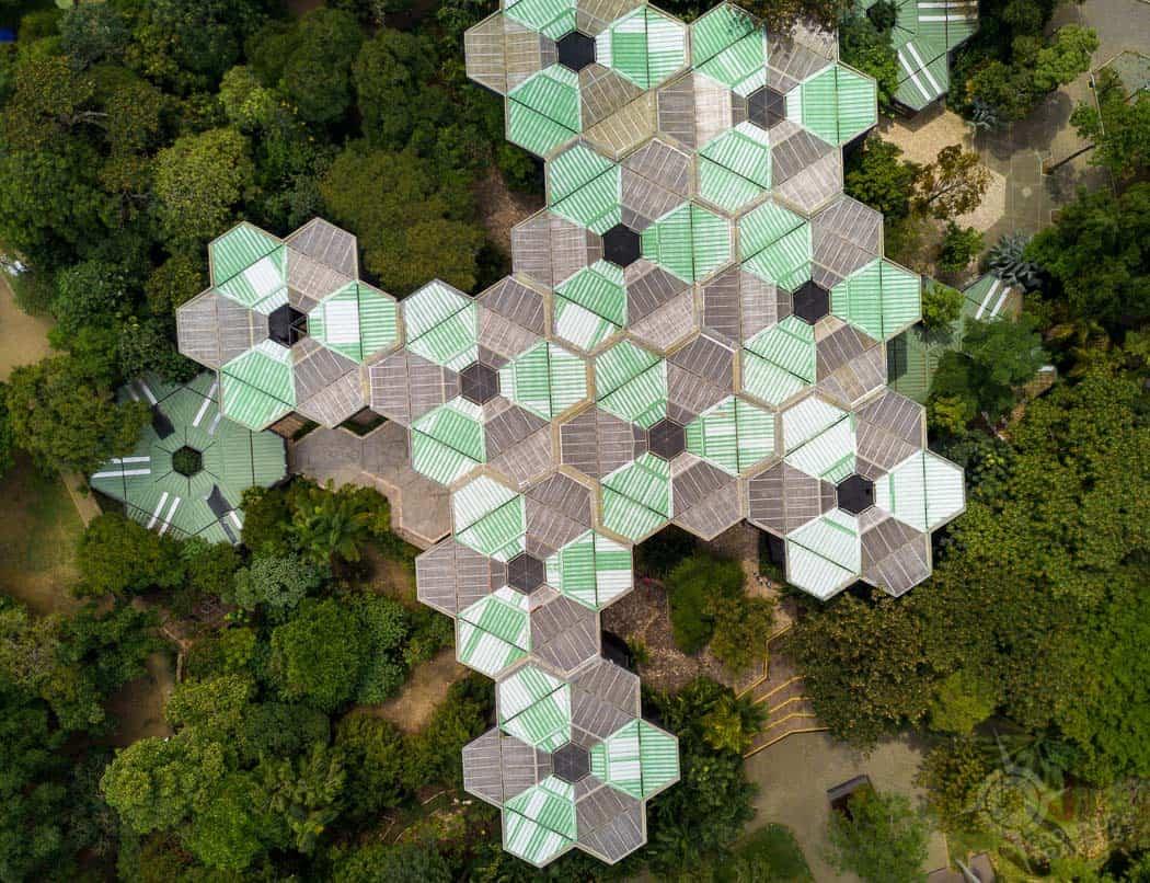 Medellin Jardin Botanico aerial