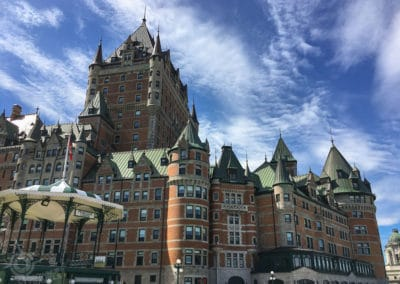 Château Frontenac from Dufferin Terrace