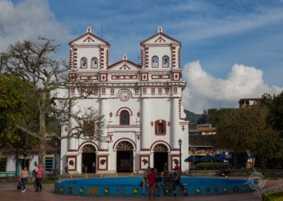 Guatape main square