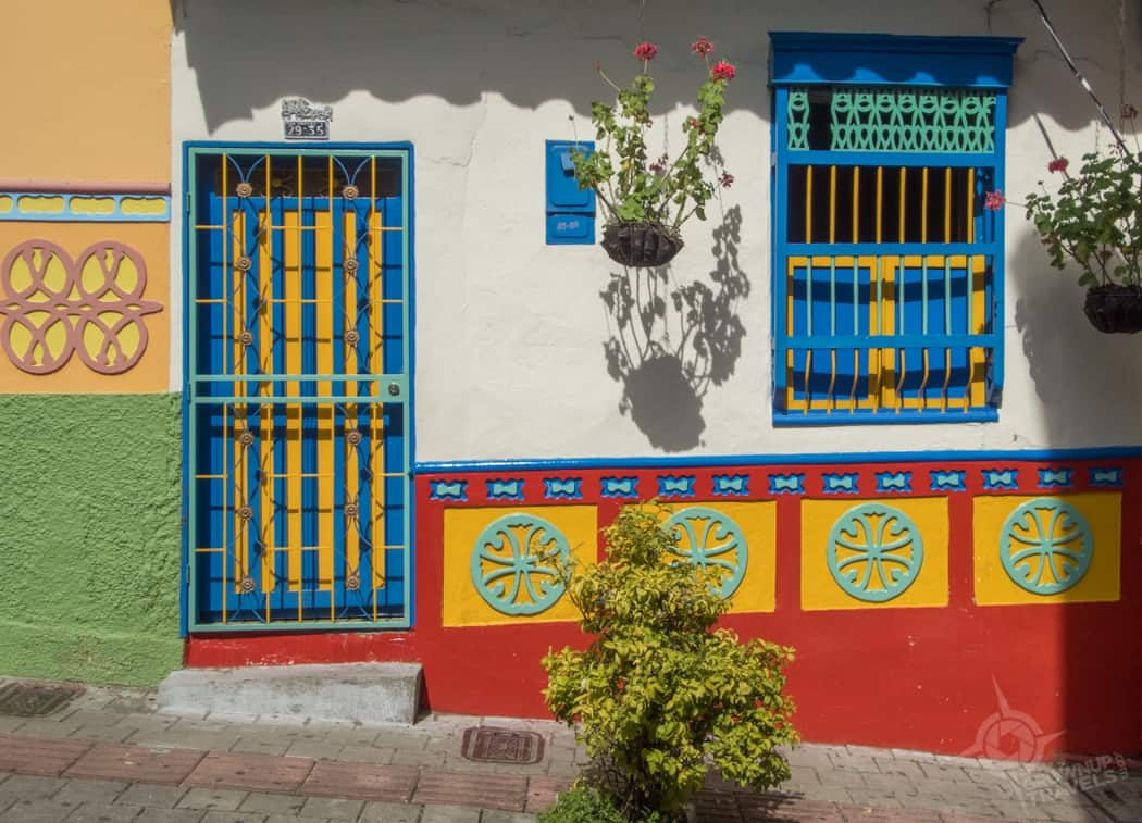 Guatape Primary coloured house
