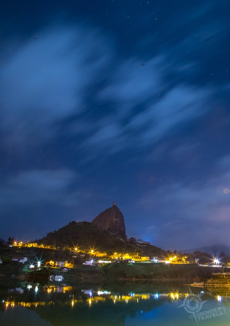 La Piedra night shot