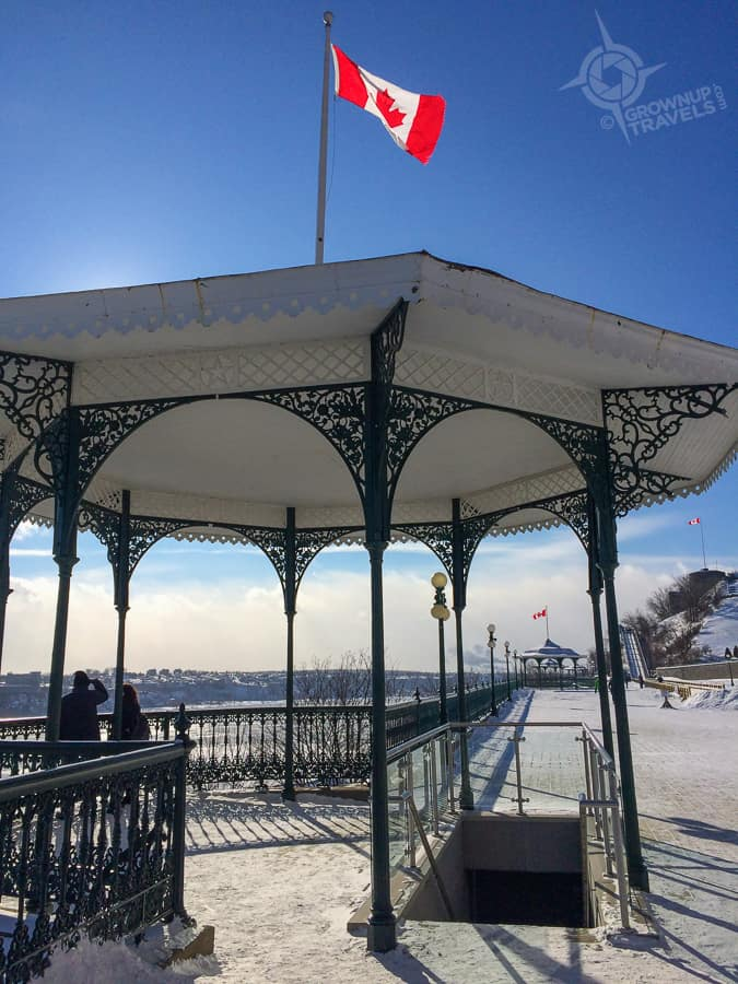 Quebec Terrace gazebo