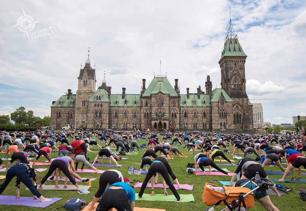BumsUp Yoga Parliament Hill