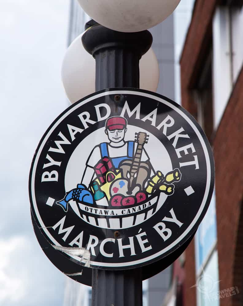 Byward Mkt sign