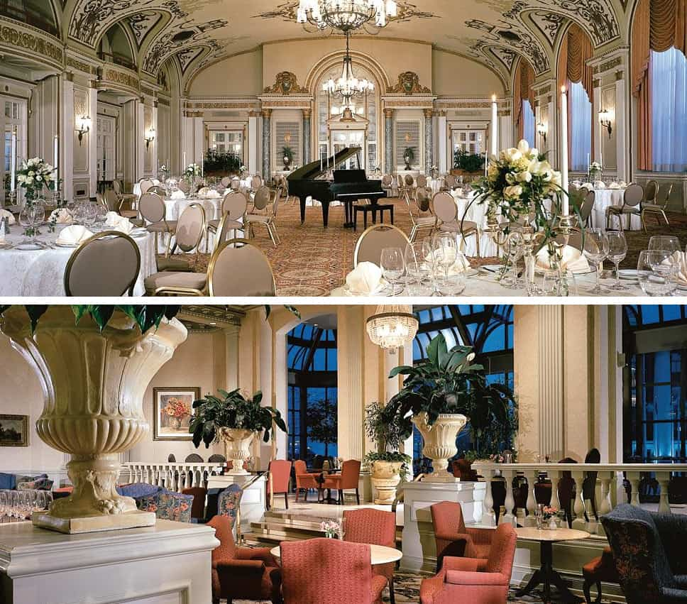 Chateau Laurier Ballroom and Zoes