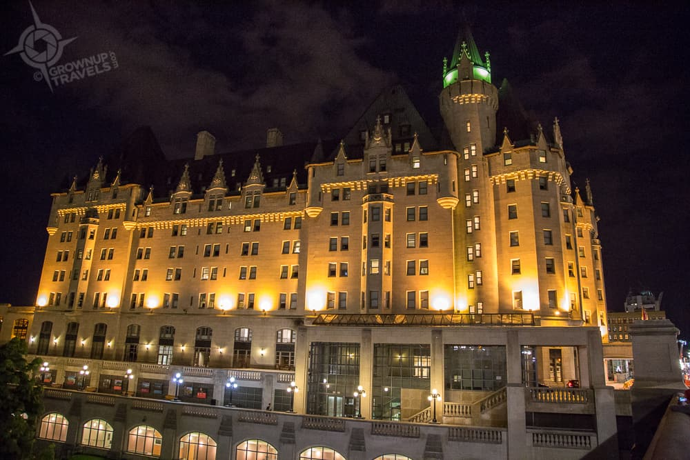 Treated like Gold at one of Canada's Castles: Fairmont Château Laurier