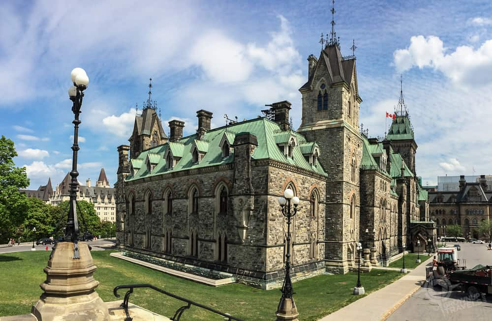 East Block Parliament Ottawa