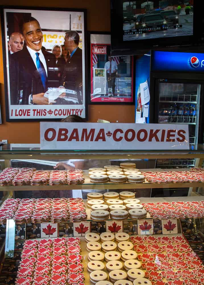 Obama Cookie Vendor Byward Mkt