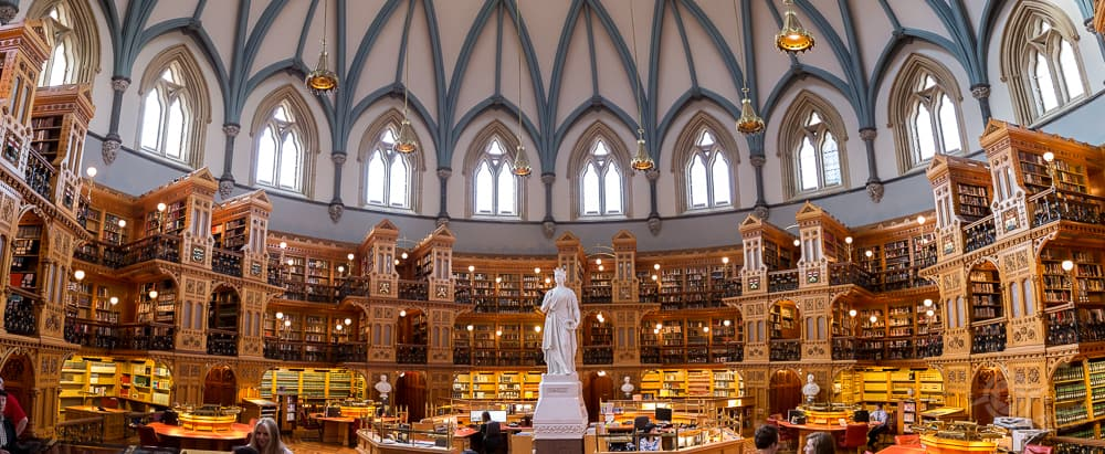 Parliament Library panorama