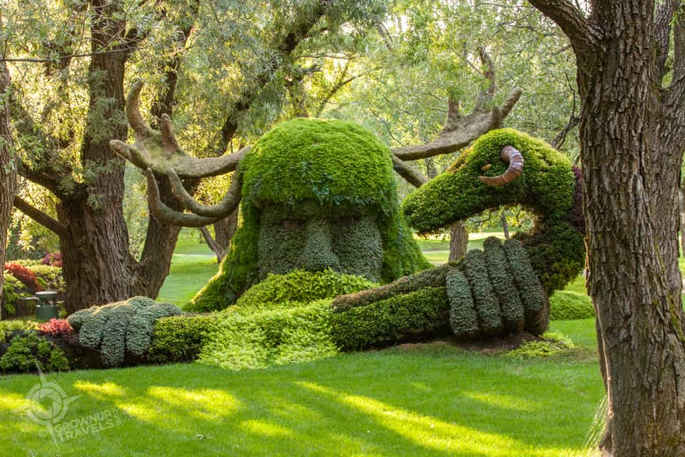 The Green Man Mosaicultures