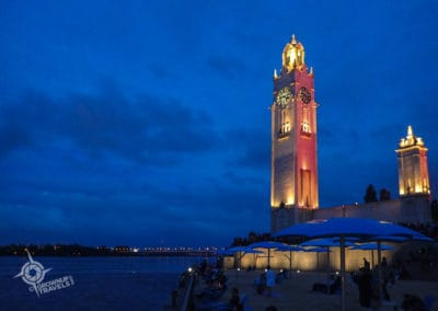 Clock Tower Beach Montreal horrid