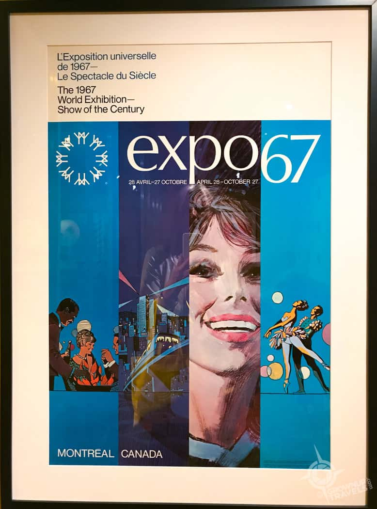 Expo 67 Poster in the McCord Museum