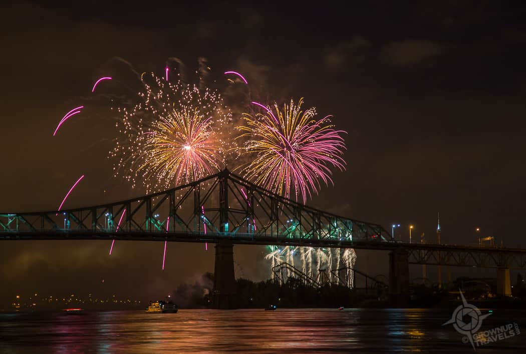 Montreal Fireworks Competition 2017