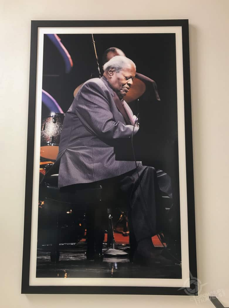 Poster of Oscar Peterson at the Maison du Festival
