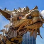 Giant Spiders and Dragons invade Canada's Capital